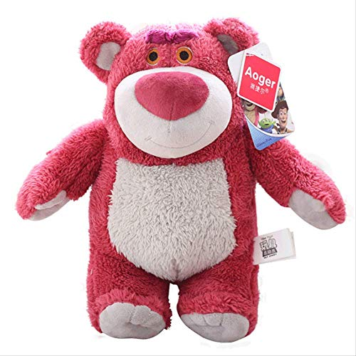 miaomiao Juguete de pelucheOriginal Toy Story Strawberry Bear Peluches De Peluche 20cm Toy Story Strawberry Bear Super Soft Gift Toys para Niños