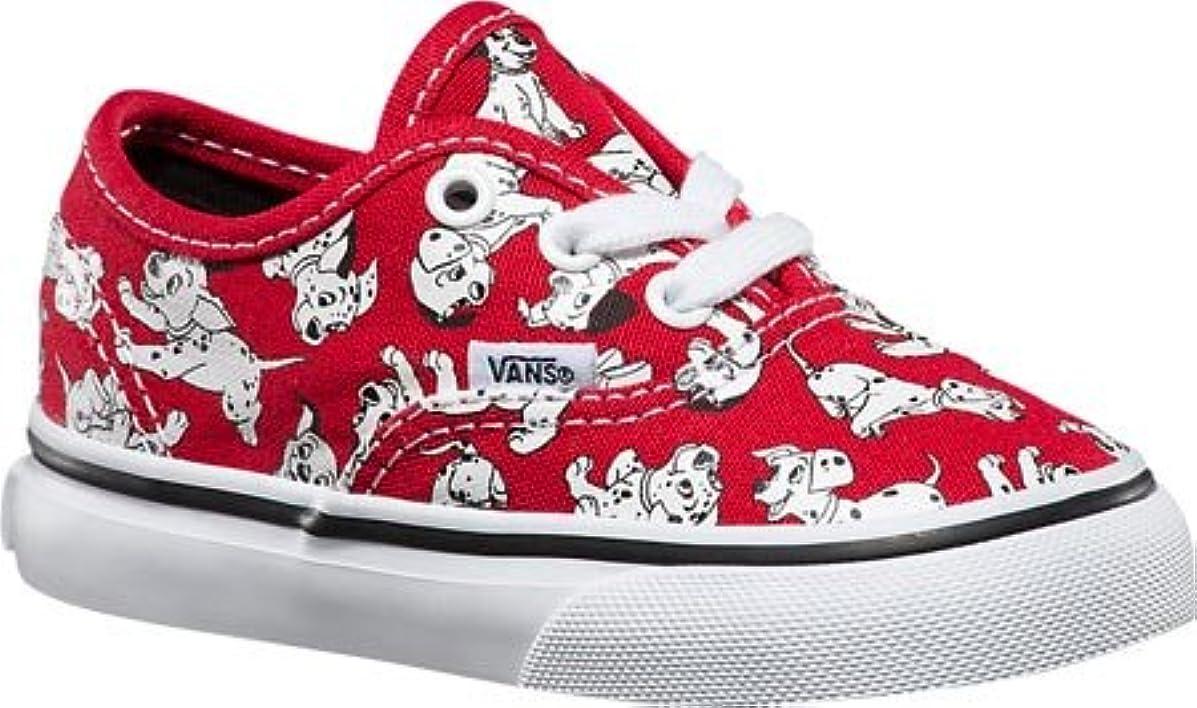 Vans Kids Disney Red Skate Shoe - 4.5 M US Toddler