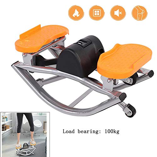 Yajun Fitness Stair Steppers Air Climber Twist Sportübung Sportübung mit LCD-Display Indoor Home Fitnessgeräte Tragbares Büropedal