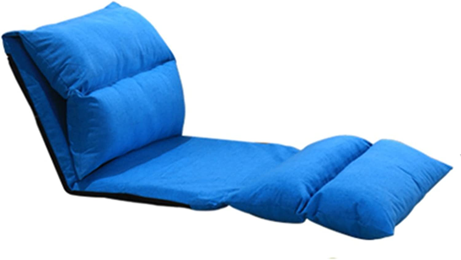 He yan Long Home Beanbag, Collapsible Multi-Speed can be Adjusted Bedroom Small Sofa Backrest Bay Window Chair Foldable Adjustable Bean Bag Lazy Sofa Floor cha (color    3)