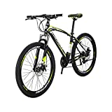 EUROBIKE BICYCE X1 27.5inch Mountain Bike 21 Speed Shift Left 3 Right 7 Frame Mountain Bicycle Yellow