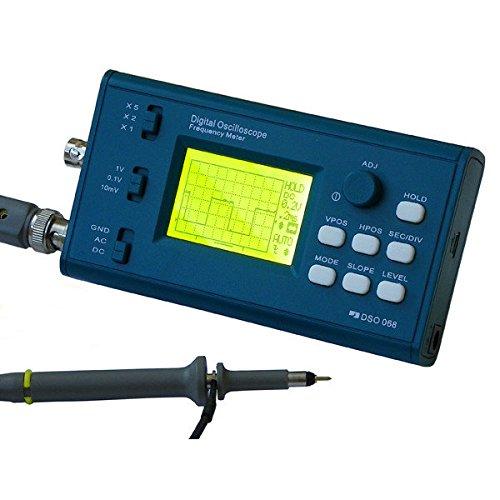 Kit Osciloscópio Digital e Medidor de Frequência DSO068 DIY