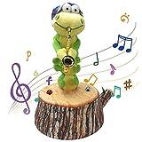 Dancing Caterpillar Plush Toys,Singing Caterpillar Toy and Caterpillar Plush Animals Toy for Home Children Decoration Entertainment Gift (B)