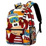 Liangbaiwan Mochila escolar para niñas niños mochila informal bolsa...