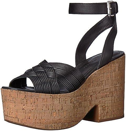 Sigerson Morrison damen& 039;s Becca Espadrille Wedge Sandal, schwarz, 9.5 Medium US