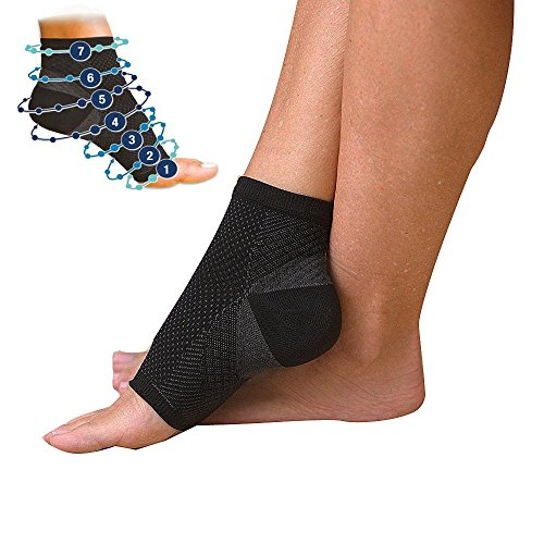 Pedimend Plantar Fasciitis Socks with Arch Support for Men Women Compression Foot Sleeve for Aching Feet Heel Pain Relief Increase Blood Circulation S UK Size 50 95