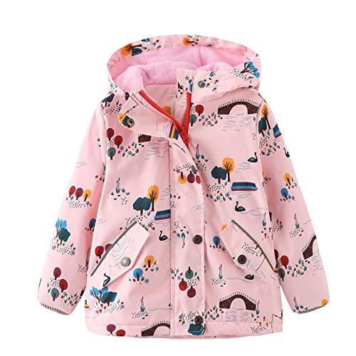 Chaqueta de forro polar para niños de invierno para niños y niñas, chaqueta de forro polar, chaqueta de estampado de dibujos animados, B, 140