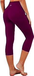 "BUBBLELIME 15""/19""/22"" Women's High Waist Yoga Pants Inner Pocket Workout Running Capris Leggings Tummy Control 4 Way Stretch"