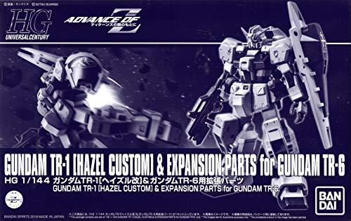 Bandai HGUC 1/144 Gundam TR-1 [Hazle Custom] & Expansion Parts for Gundam TR-6