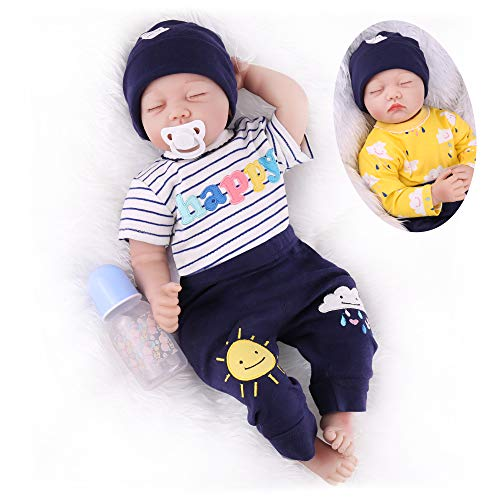 CHAREX Reborn Baby Dolls Sleeping 2…