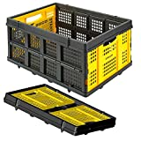 Stanley SXWTD-FT505 25 kg Folding Basket - Yellow