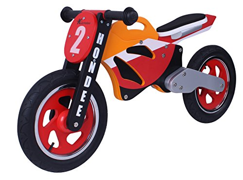 Hondee legno Moto Balance Bike