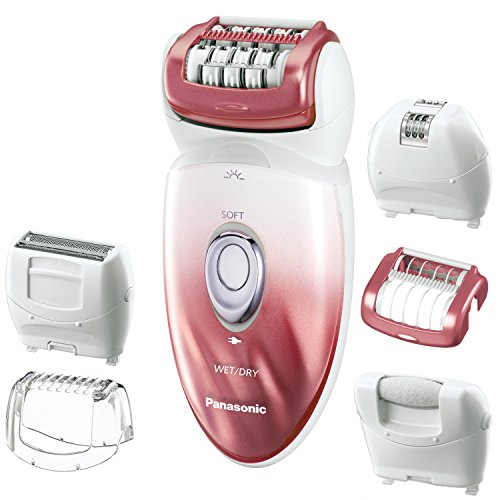 2. Panasonic ES-ED90-P Wet & Dry Epilator