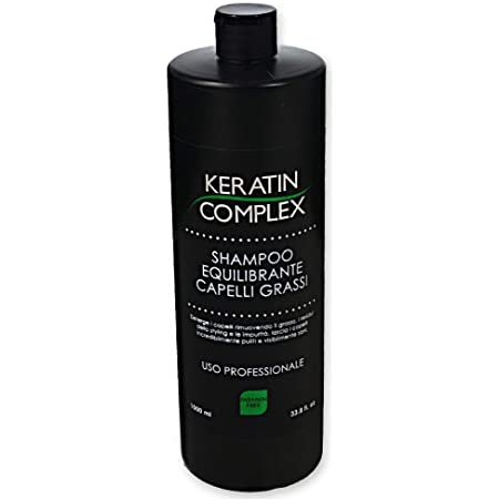 takestop® Shampoo YF RIEQUILIBRANTE per Capelli Grassi Professionale 1000ML DETERGE RIMUOVE RESIDUI dello Styling Senza PARABENI COSMETICO