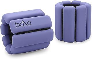 Bala Bangles - Set of 2 (1lb Each) | Adjustable Wearable Wrist & Ankle Weights | Yoga, Dance, Barre, Pilates, Cardio, Aero...
