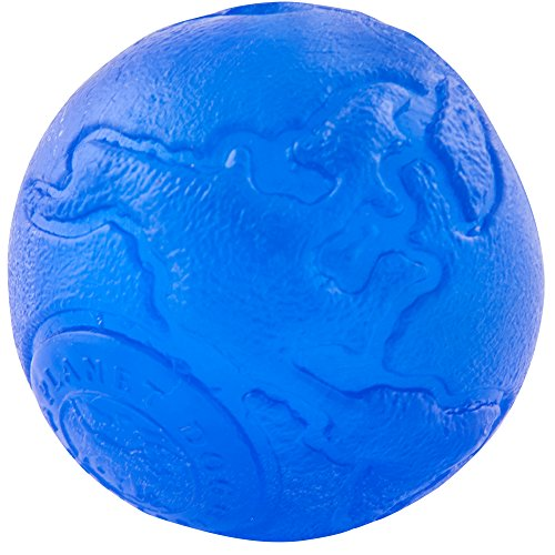 Planet Dog Orbee-Tuff Planet Ball Dog Toy, Large, Blue