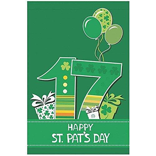 Seizoensgebonden Garden Flag Banner, Huis Decoratieve Vlaggen, Home Yard Decor Vlag,17 Maart,Happy St. Patrick'S Day Outdoor Vlaggen Voor Feest, Verjaardag, Bruiloft