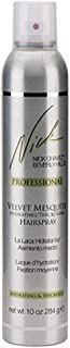 Nick Chavez Beverly Hills Velvet Mesquite Hydrating Thickening Hairspray for Thicker and Smoother Hair - Premium Moisturizing Styling Spray - 10oz