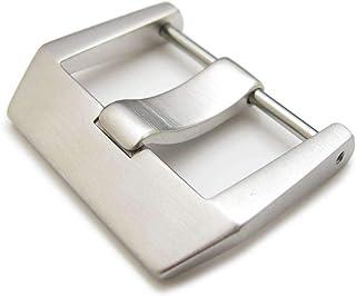 Strapcode 24mm o 26mm acciaio inossidabile 316L spazzolato Tipo vite 6mm Tongue Buckle per Bell & Ross BR01 BR03 cinturino