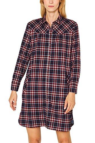 ESPRIT Damen 099EE1E016 Kleid, Rot (Garnet Red 620), (Herstellergröße: 38)