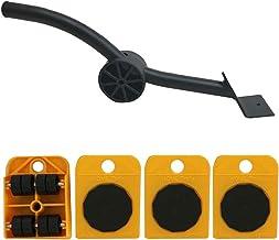 Ladderlift Mover Tool Set Furniture Lifting Wielen met Heavy Moving Sliders voor Banken Banken Koelkasten Orange 5PCS Keuk...