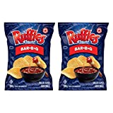 Ruffles Bar-B-Q Potato Chips 200g/7.05oz, 2-Pack {Imported from Canada}