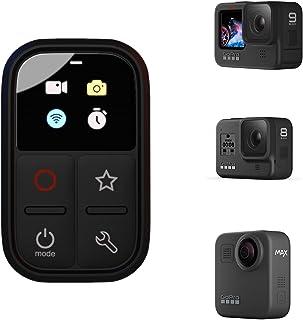 REYGEAK Inteligentny pilot zdalnego sterowania WiFi, wodoodporny kontroler kamery ze wskaźnikiem ekranu LCD do GoPro Hero ...