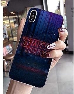 057a4a0f1dc NINESH Accesorios de teléfonos Lindos y Coloridos para Stranger Things para  Apple iPhone 8 7 6