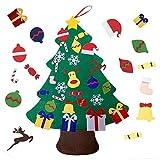 viviyi Árbol de Navidad de Fieltro, DIY Decoración Navideña para Niños, Adornos Desmon...