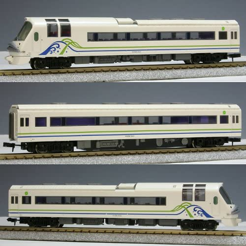 Series Kiro59 [Resort Saloon Festa] Later Years Specifications (3-Car Set) (Model Train) (japan import)
