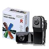 Mini Enregistreur vidéo Sport/webcam DV DVR MD80 avec caméra espion Noir