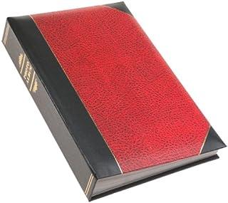 Pioneer Ledger Bi-Directional Le Memo Album, Red