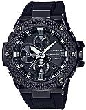 [カシオ] 腕時計 ジーショック G-STEEL スマートフォン リンク カーボン エディション GST-B100X-1AJF メンズ ブラック
