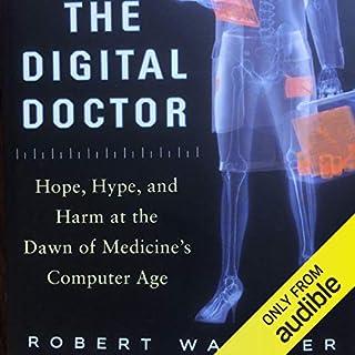The Digital Doctor audiobook cover art