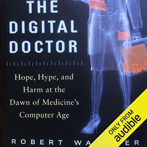 The Digital Doctor audiobook cover art