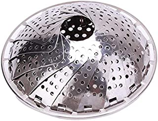 Stainless Steel Vegetable/Veggie Steamer Basket For Instant Cooking Pot With Handle And Legs, Foldable Food Container For ...