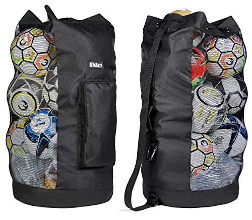 Heavy Duty XL Soccer Mesh Ball Bag
