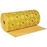 "Hazmat Sorbent Roll, 32"" x 150', Heavy, Yellow, 1/Case"