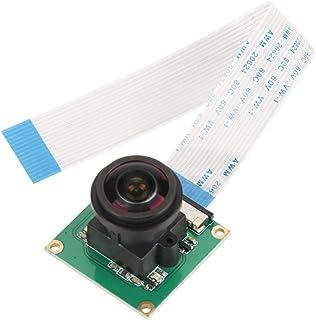 5MP OV5647 High Definition Camera Module 175° Wide Angle Mini Camera Video Module with Flexible Ribbon Cable for Raspberry Pi B 3/2