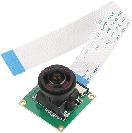 Akozon Raspberry Pi 3 Camera, Modulo per Fotocamera da 5 Megapixel ad Alta Definizione Night Vision Modulo Camera Infrarossi ad Angolo Grandangolare 175 ° Fish Eye per Raspberry Pi B 3/2 - Trova i prezzi più bassi
