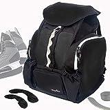 Athletico Hockey Backpack - Large Backpack to Carry Hockey Equipment Including Skates (Black)