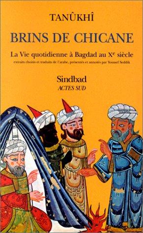 Brins de chicane. La vie quotidienne à Bagdad au Xe siècle