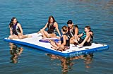 Island Hopper Island Buddy 12 Foot Inflatable Swimming Water Platform