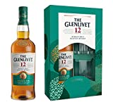 The Glenlivet 12 Year Old Single Malt Scotch Whisky Gift Pack with Two Glasses