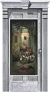 Asylum Door Cover | Halloween Decoration