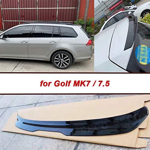 HosDevice ABS Heckspoiler für Volkswagen Golf 7/7.5 / VII / MK7 / MK7.5 / GTI/R/Rline Wagon 2014-2019, Heckscheibenflügel, für Golfmodifikationsbegeisterte
