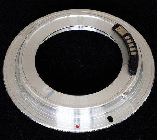 Pixtic–Anillo Adaptador de Objetivos M42x 1para para de Poner a Canon EOS...