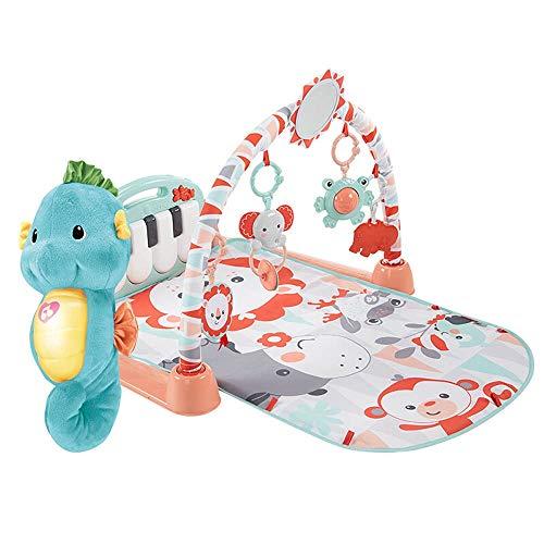 Juego del bebé Mat Música educativa del juguete del bebé del piano manta de la música de piano en rack Ejercicio Manta bebé de juguete de juego con la estera de arrastre del bebé estera del juego para