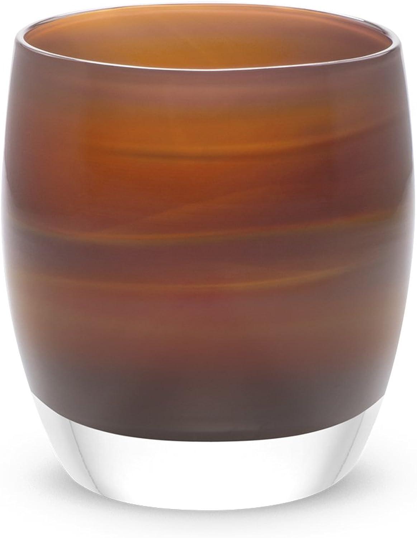 Glassybaby Votive Candleholder - 'Jane's Caramel'