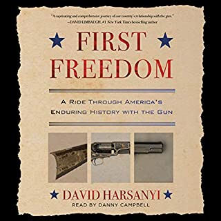 First Freedom audiobook cover art